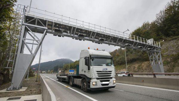 El TSJPV anula de nuevo los peajes para camiones en Gipuzkoa