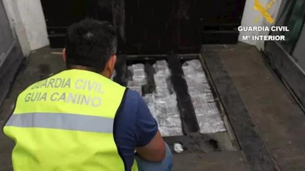 La Guardia Civil interviene 40 kilos de hachís en la frontera de Irun