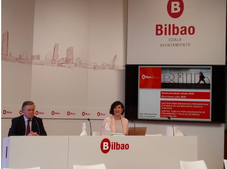 El Ayuntamiento de Bilbao habilita 12 nuevos colegios electorales para las elecciones al parlamento vasco el próximo 12 de julio