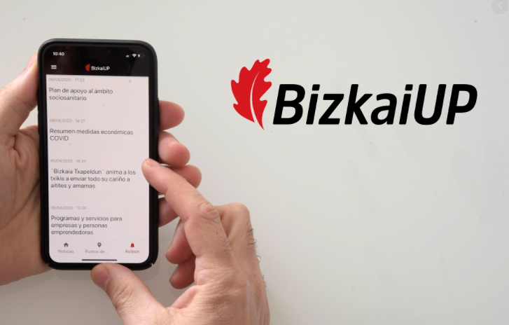 BizkaiUP, la aplicación móvil de la Diputación Foral de Bizkaia, ofrece información sobre playas y solicitudes de cita previa