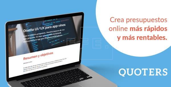 Quoters lanza una oferta irrechazable para digitalizar presupuestos y documentos comerciales: precios reducidos ¡para toda la vida!