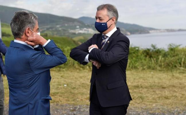Urkullu y Revilla escenifican el fin del estado de alarma