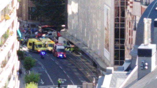 Dos personas arrolladas por un conductor que se ha desmayado Bilbao