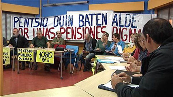Los pensionistas piden a los partidos que se pronuncien en torno a sus reivindicaciones