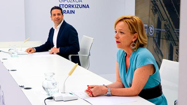 La Diputación de Gipuzkoa destinará 825.000 euros a reactivar la red socio-económica