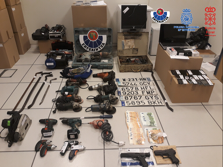Desarticulado un grupo criminal especializado en robos en empresas
