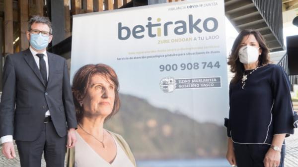 La iniciativa Betirako ofrece atención para personas que han perdido a seres queridos por COVID-19