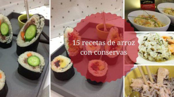 15 recetas de arroz con pescado en conserva, de la mano de Serrats