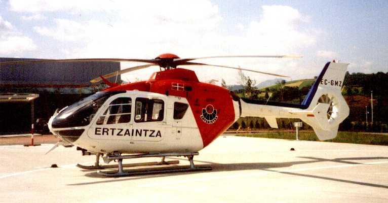 Evacuado un hombre accidentado con una máquina agrícola en Oñati