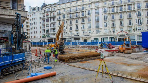 Los afectados por las obras del topo de San Sebastián vuelven a sus viviendas