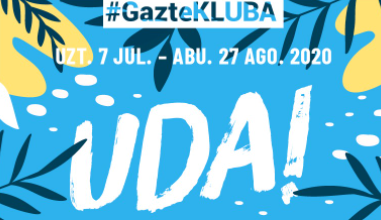 El Ayuntamiento de Bilbao pone en marcha #Gaztekluba Uda, su oferta de ocio juvenil para el verano