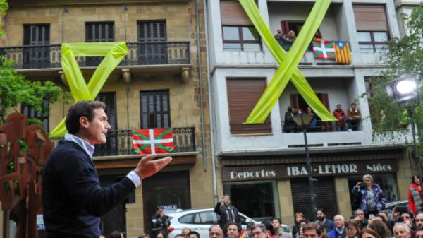 23 procesados por las protestas del mitin de Ciudadanos en Errenteria