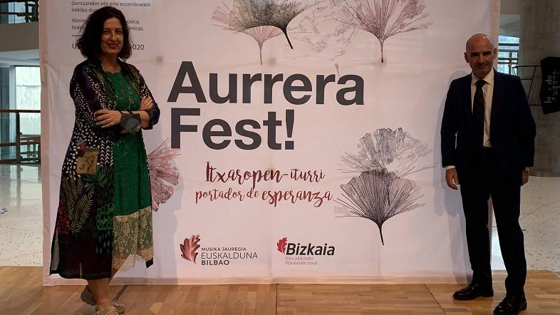 Diputación Foral de Bizkaia lanza `Aurrera Fest´ en Euskalduna para reactivar el sector cultural